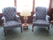 Love Seat & 2 Side Chairs