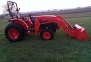 2008 Kubota L5740 Tractor Loader Blade 4WD