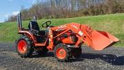 2011 Kubota B2320HSD Diesel 4x4 Loader Tractor