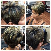 Short haircuts and hairstyle Aliquippa | Anna's Salon Elite
