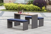 Outdoor Wicker Bistro Set On Sale