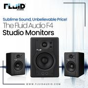 The Fluid Audio F4 Studio Monitors